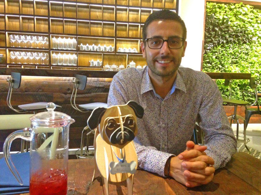 Damien Ticety Iced Tea Bar
