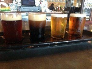 Sea Dog Beer Flight