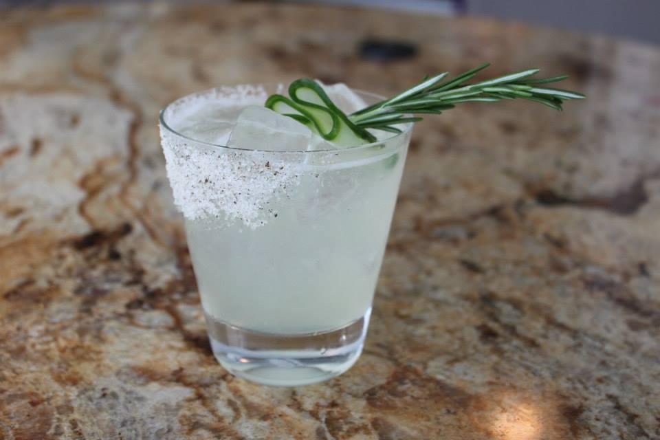 Raised Spirits, one of Tamarina's signature drinks