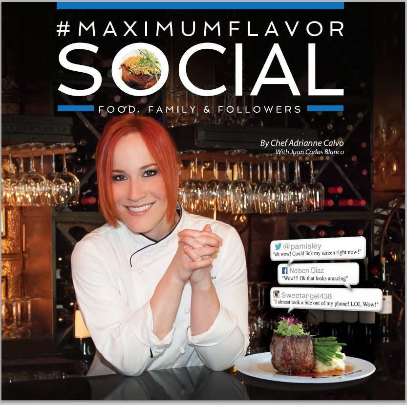 Maximum Flavor Social Book Cover