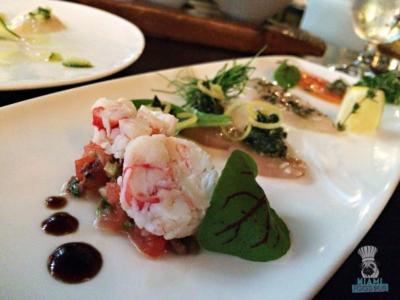 Tamarina - Crudo Chef's Tasting Menu