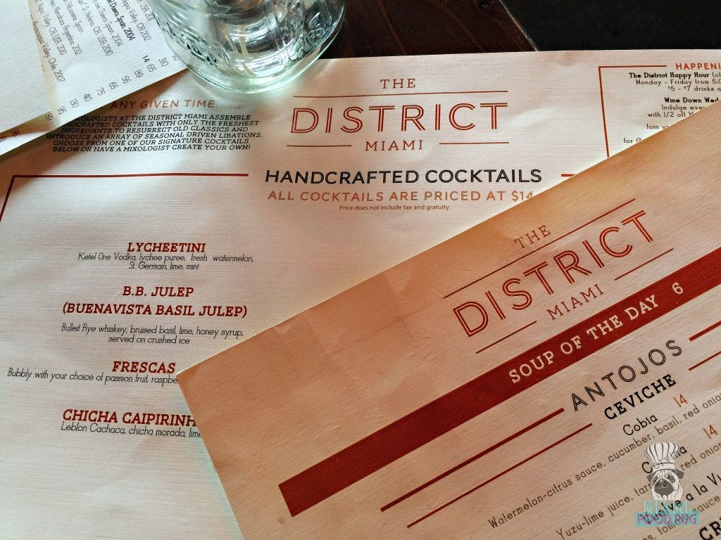 the-district-menu