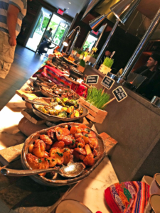 La Mar 's hot food buffet
