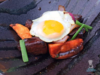 La Mar's Lomo Saltado and Fried Egg