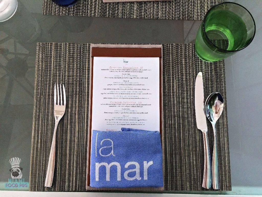 La Mar 's menu