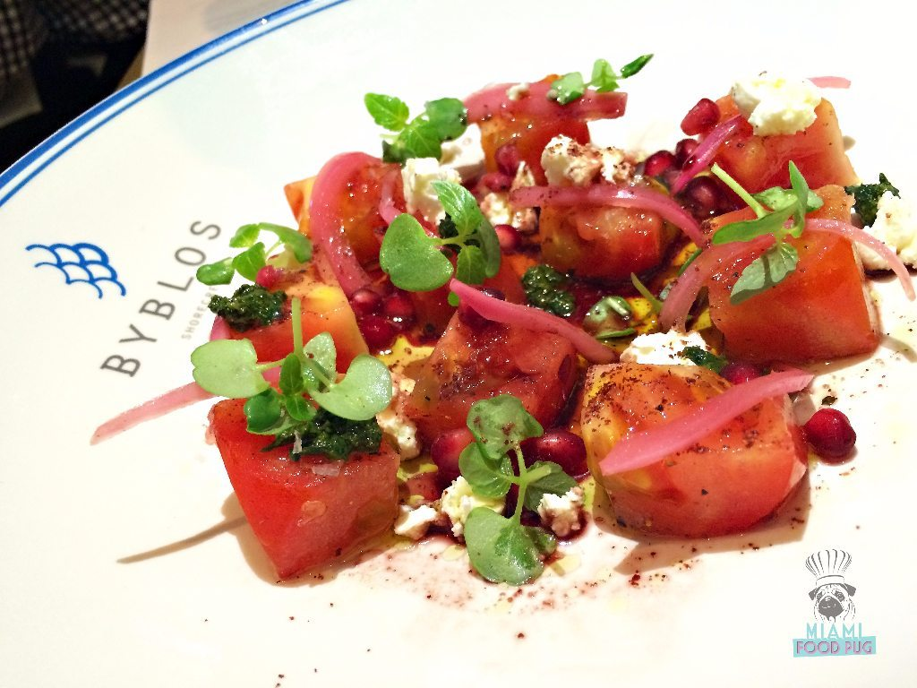 Byblos' Tomato Salad