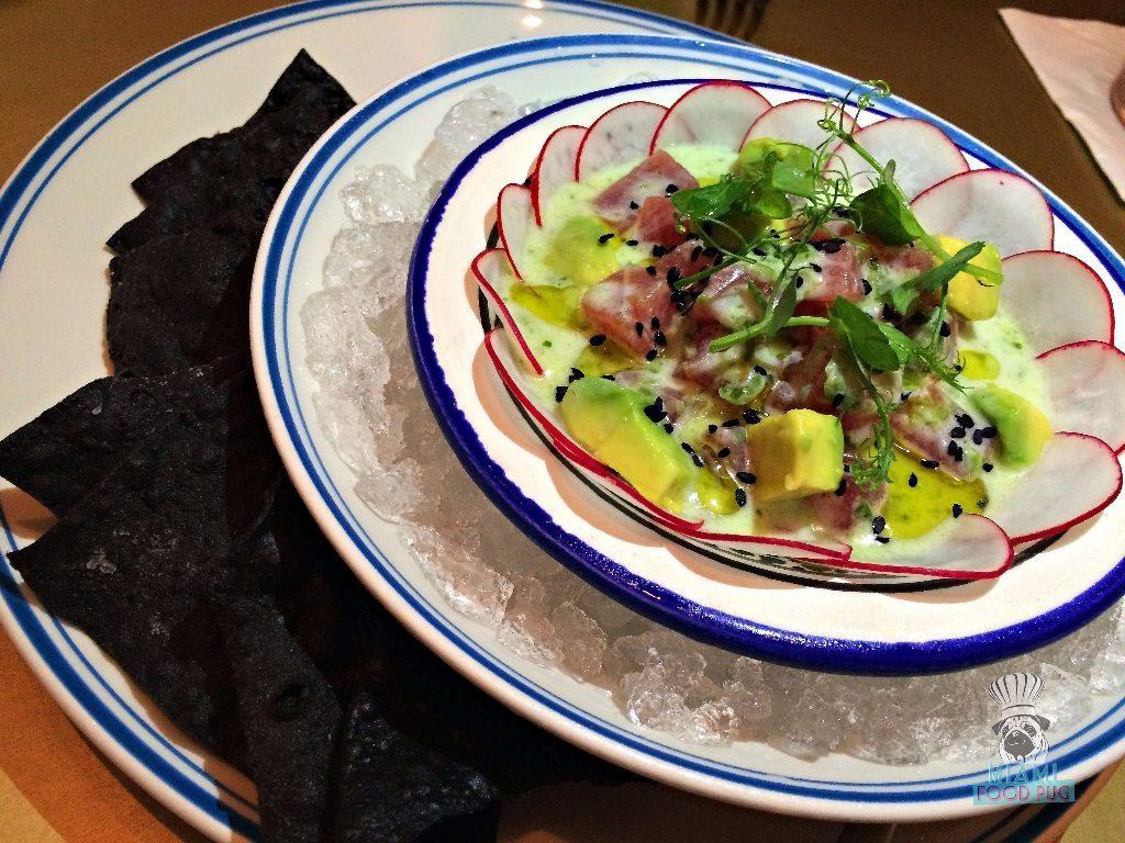 Byblos' Tuna Ceviche