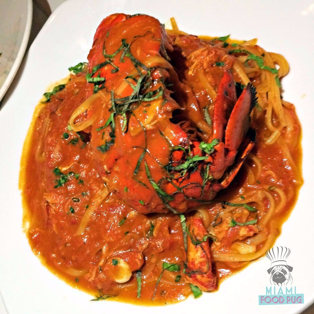Red the Steakhouse's Lobster Fra Diavolo