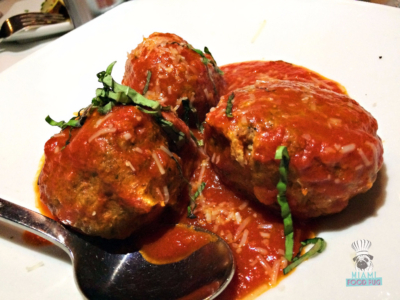 Red the Steakhouse's Meatballs
