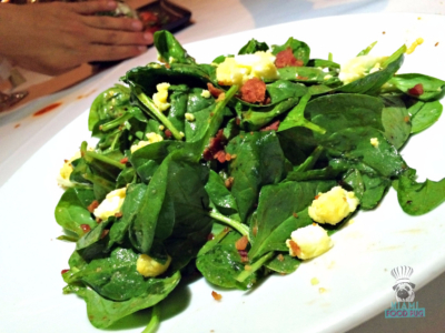 Red the Steakhouse's Spinach Salad