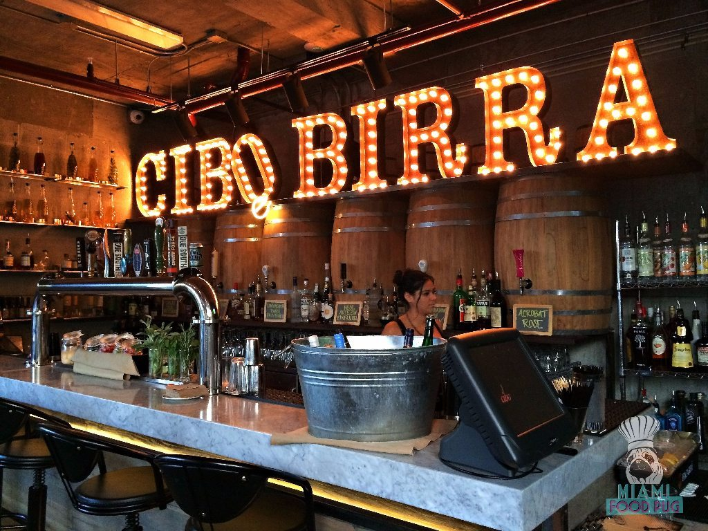 Cibo Wine Bar's Beer Bar