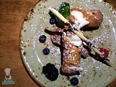 Cibo Wine Bar's Cannolis