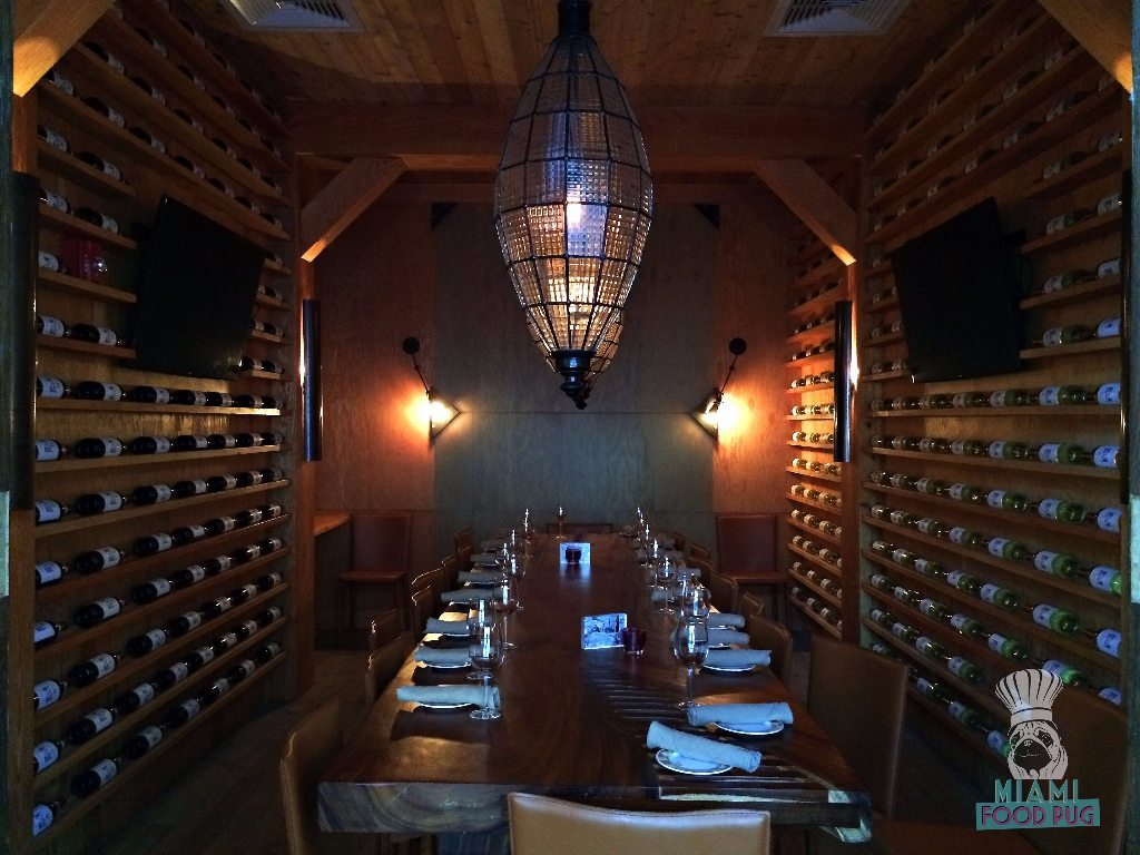 Cibo Wine Bar's Wine Cellar Private Dining Room