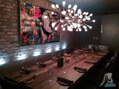 Cibo Wine Bar's Second Private Dining Room
