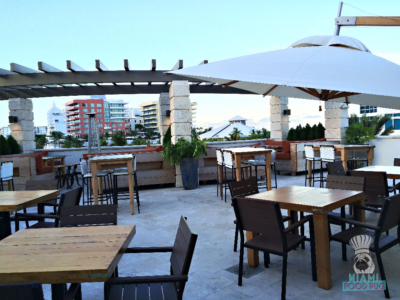 Cibo Wine Bar's Rooftop Seating