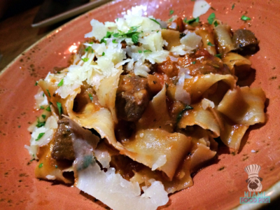 Cibo Wine Bar's Pappardelle With Lamb Ragu