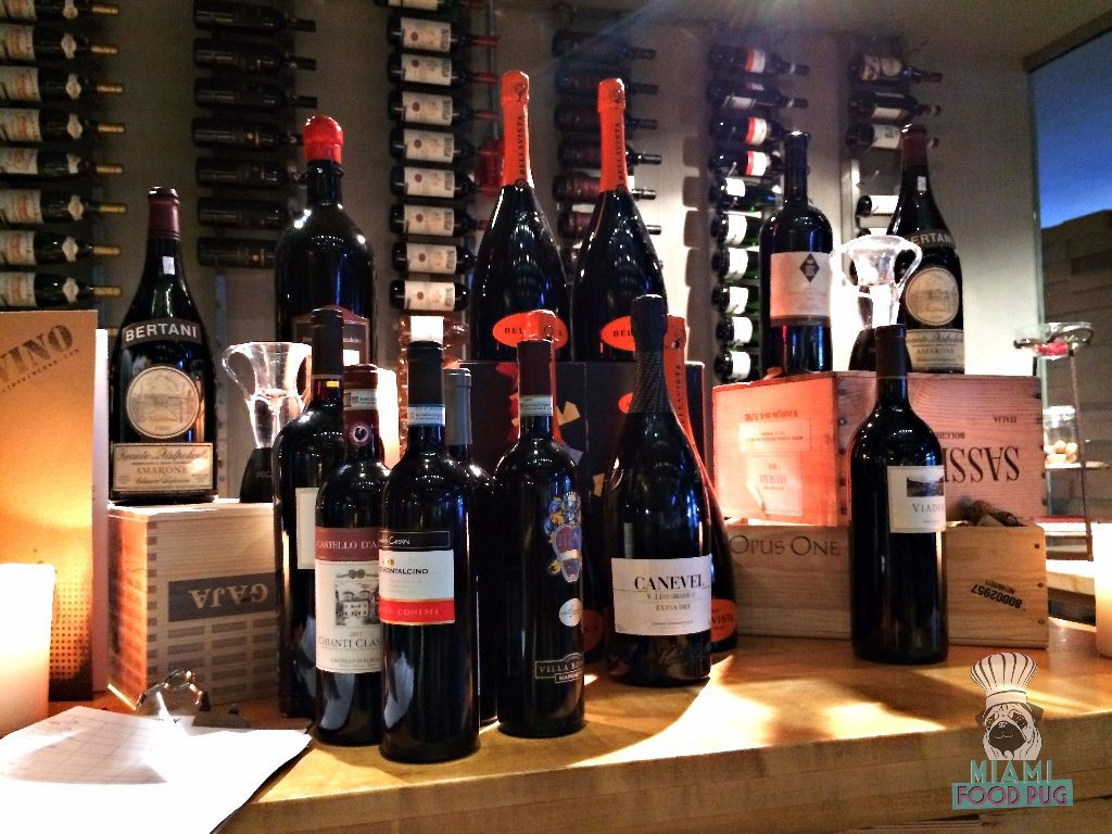 Cibo Wine Bar's Wines