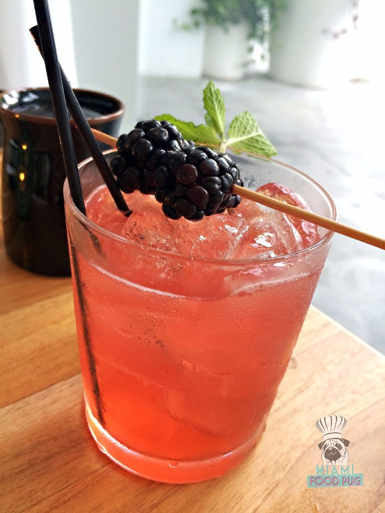 Momo Sushi Shack's Mapleberry drink