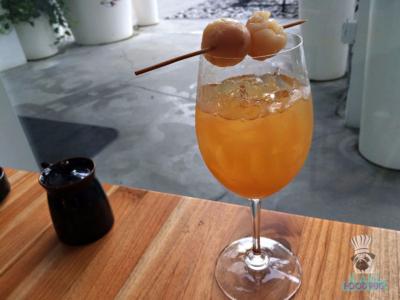 Momo Sushi Shack's Lychee Passionfruit Iced Tea