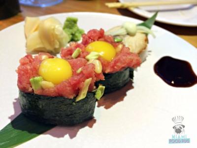 Momo Sushi Shack's Gunkan