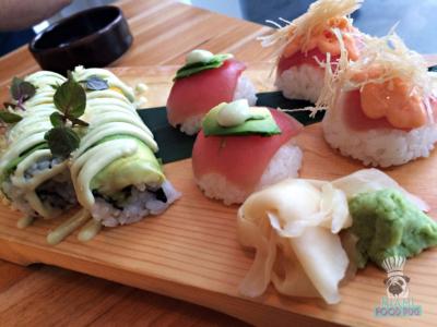 Momo Sushi Shack's Sushi Platter