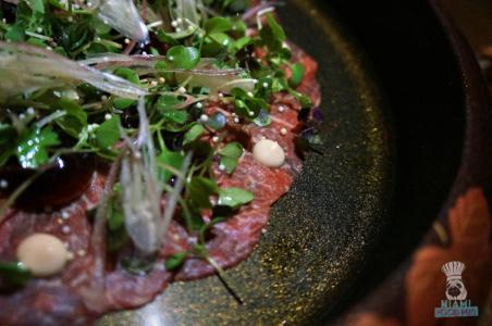 Kuro's Beef Carpaccio