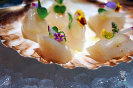 Kuro's Scallop Sashimi