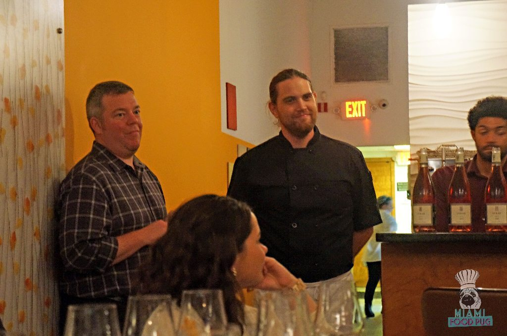Uvaggio's Heath Porter and Executive Chef Tanner Gill