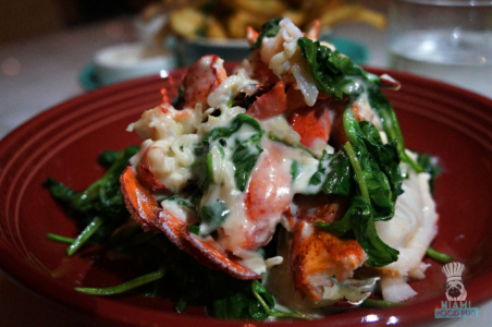 Driftwood's Butter Poached Lobster