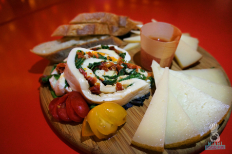 La Feria's Mixed Cheese Board