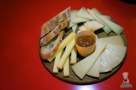 La Feria's Cheese Plate