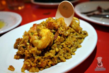 La Feria's Shrimp Paella
