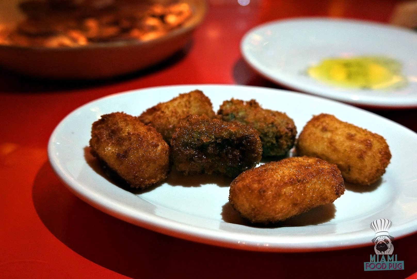 La Feria's Croquetas - Ham, Cod and Spinach