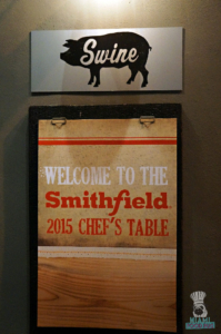 Smithfield's Chef's Table