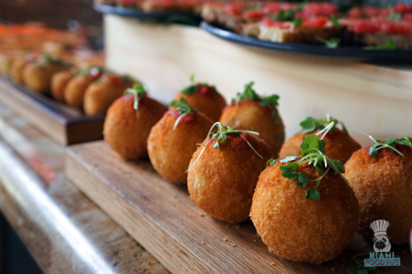 Arancini at Tamarina's Brunch