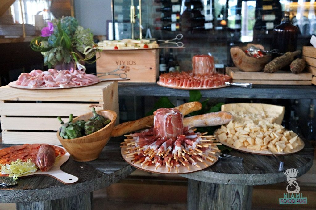Meat and Cheese Display at Tamarina's Brunch