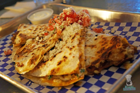 Coyo's Chicken Quesadillas