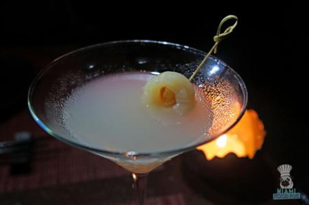 Jaya's Lychee Martini