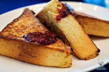 The Continental Brioche French Toast