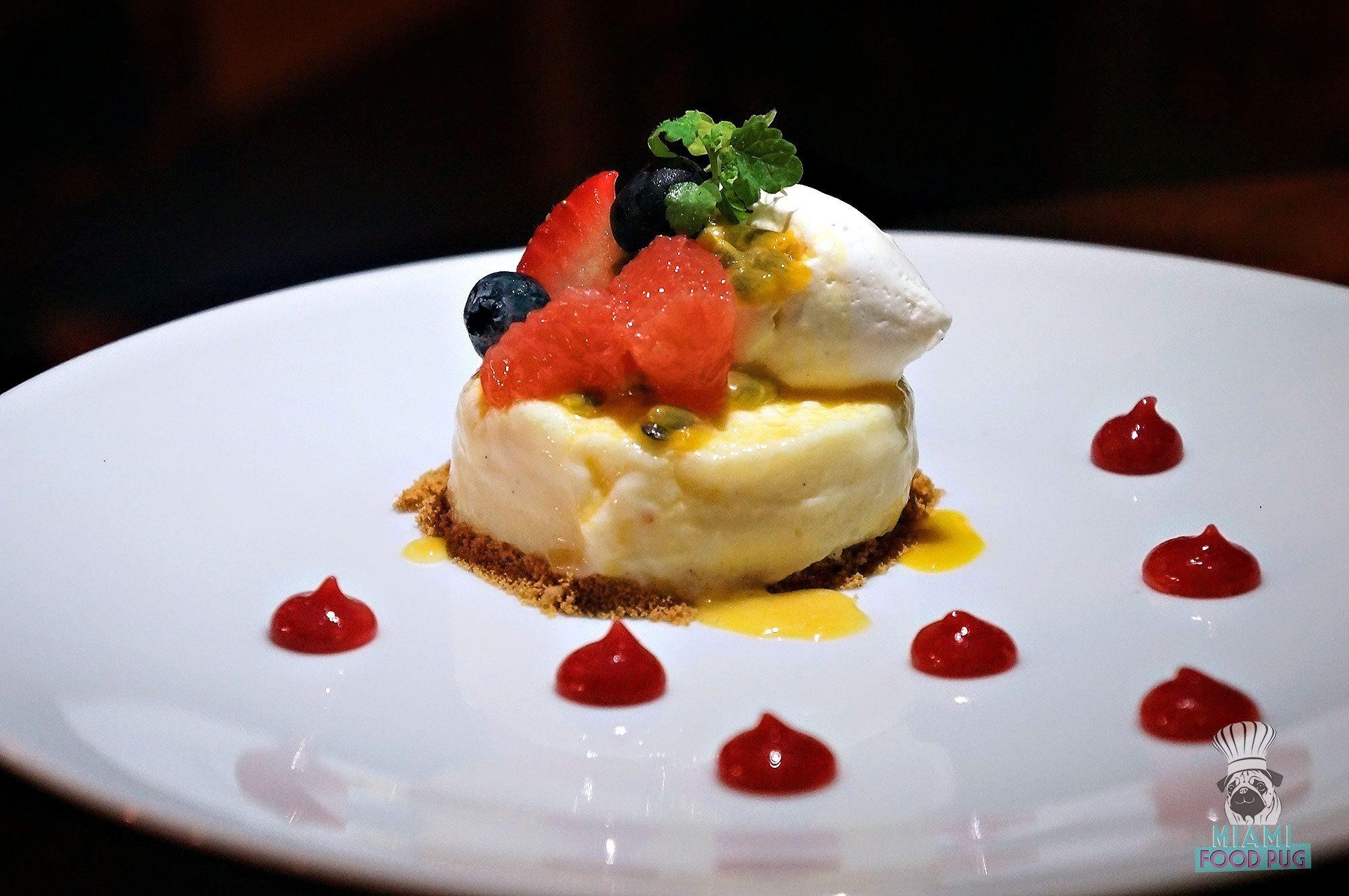 Ariete's Crème Fraîche Cheesecake