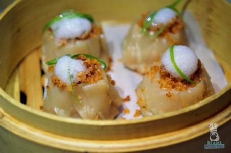 Azul's Shrimp Gyoza