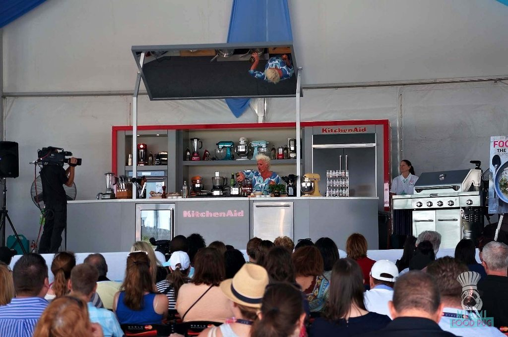 SOBEWFF Grand Tasting Anne Burrell Demo