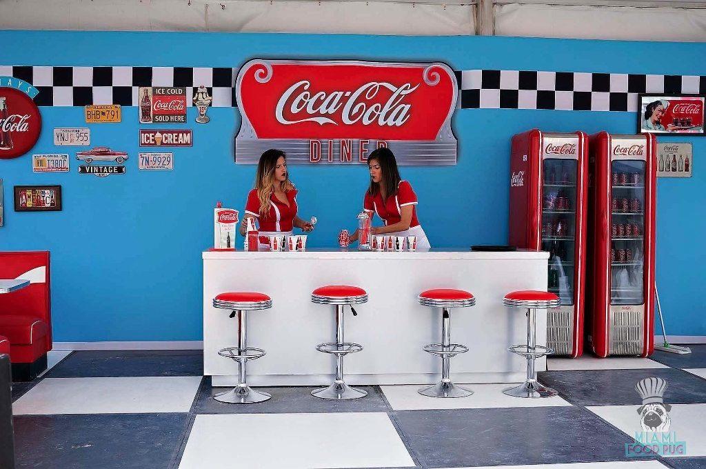 SOBEWFF Grand Tasting Coca Cola's DIner