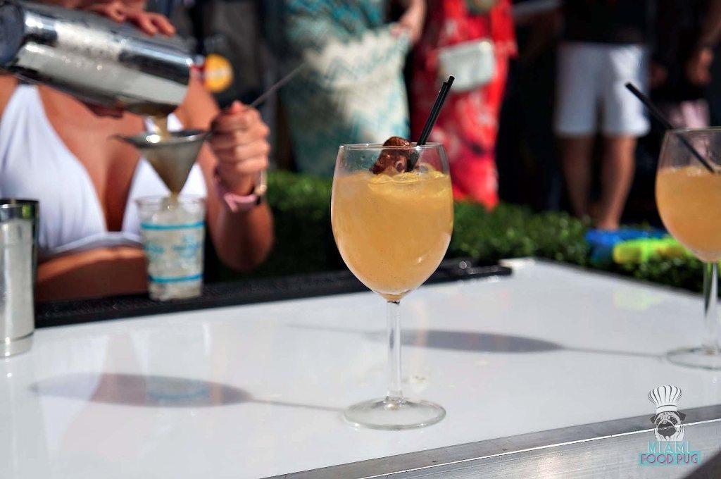 SOBEWFF Grand Tasting Kuro's Hachi Cocktail