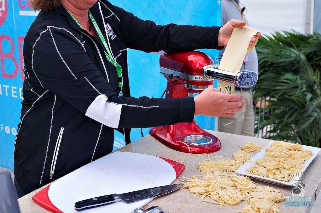 SOBEWFF Grand Tasting Pasta Extruder