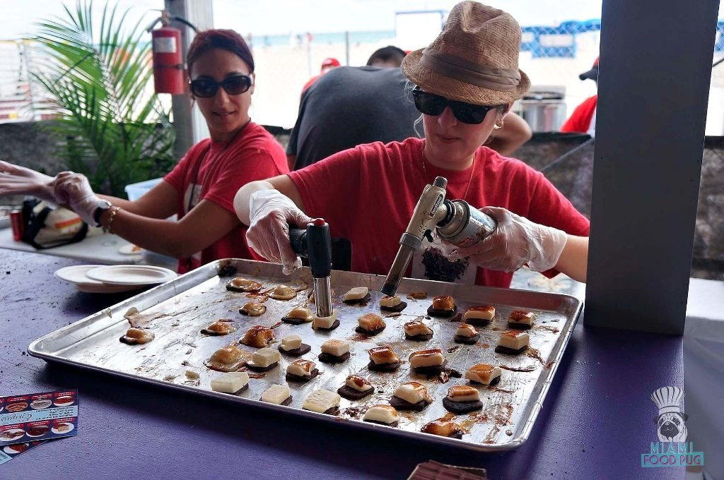 SOBEWFF Grand Tasting Torching S'mores