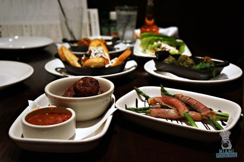 Carrabbas - Small Plates Table