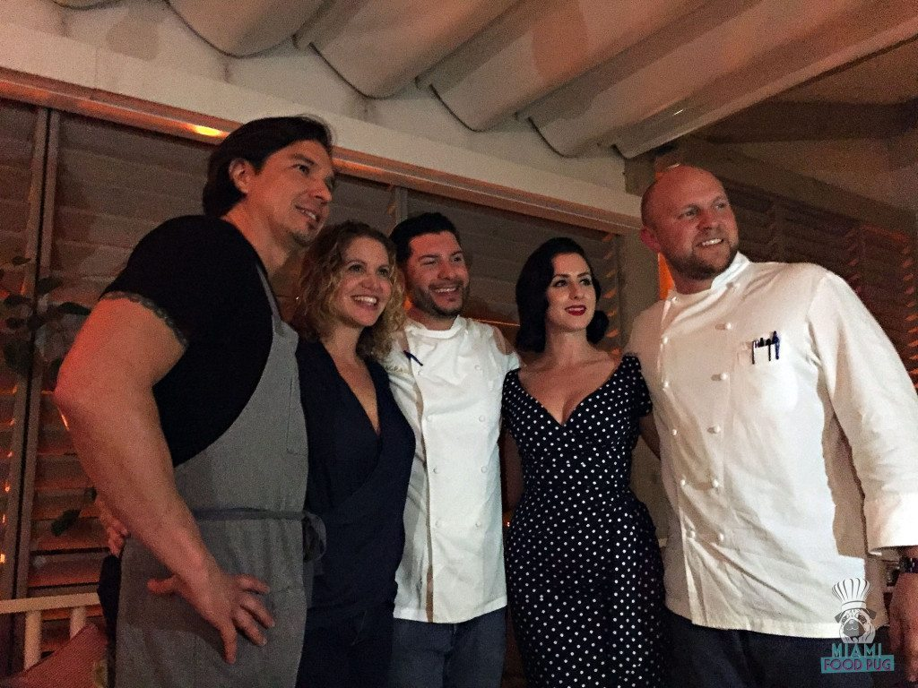 Off The Books - Chef Max Santiago, Chef Michelle Bernstein, Chef Tony Velazquez, Chef Velazquez's girlfriend, and Chef Jeremy Ford