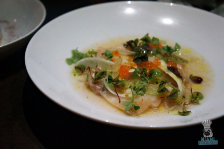 Ariete's Mackerel Crudo