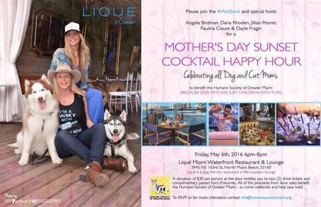 Mother's Day Yappy Hour